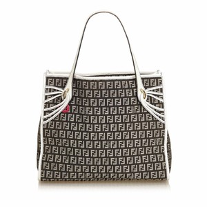 Fendi 8jfnto037 Tote in Black