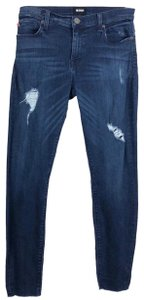 Hudson Skinny Jeans-Distressed