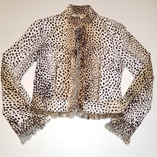 Preload https://img-static.tradesy.com/item/24447043/roberto-cavalli-beige-black-2005-collection-animal-print-ruffled-jacket-size-8-m-0-2-650-650.jpg
