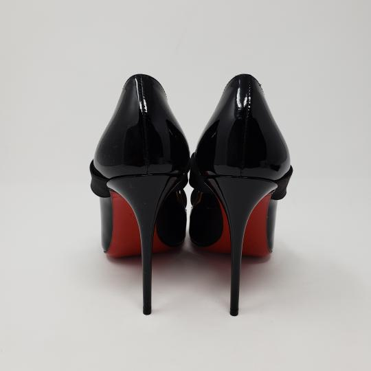 Christian Louboutin Patent Leather Pointed Toe So Kate Pigalle Sharpstagram Black Pumps