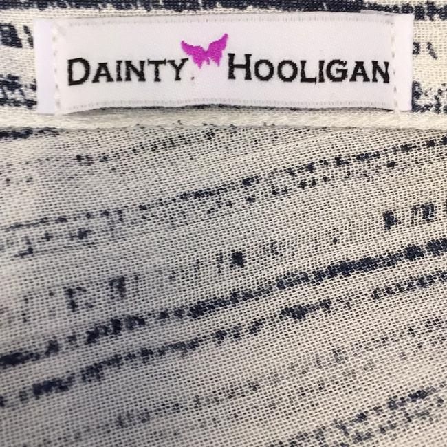 Dainty Hooligan Top Black and white
