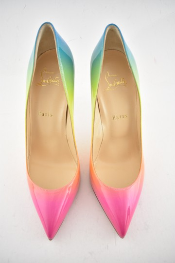 Christian Louboutin Pigalle Follies Stiletto Glitter Classic multicolor Pumps