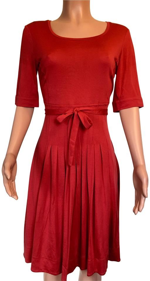 e099145cd05 Max Mara Red  weekend  Casual Maxi Dress Size 8 (M) - Tradesy