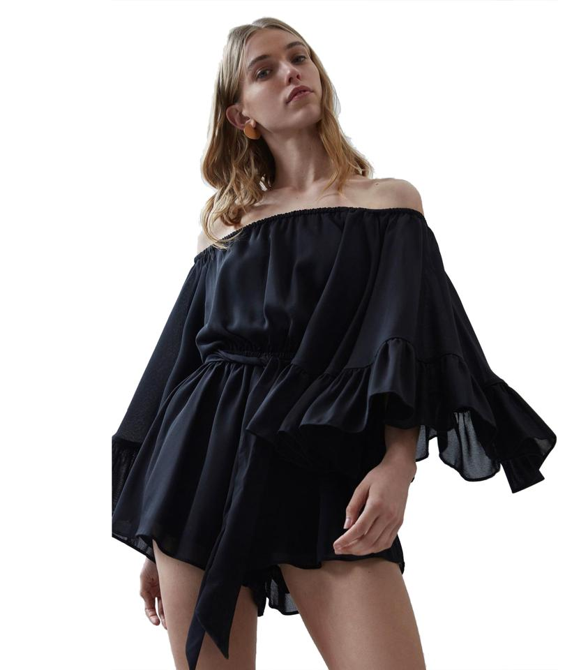 1fb8b0d5112d C meo Collective Black C Meo Fading Nights Playsuit S Romper Jumpsuit
