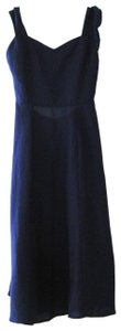 Reformation short dress Blue Midi Sweetheart on Tradesy