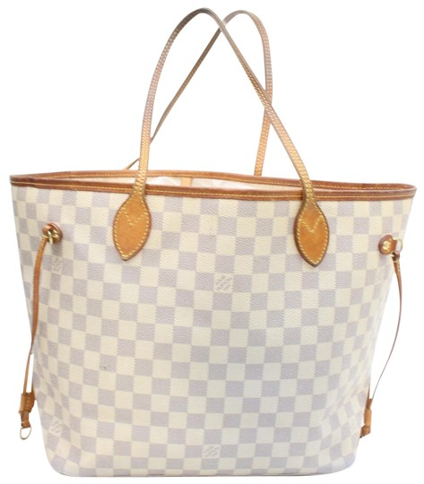Preload https://img-static.tradesy.com/item/24447205/louis-vuitton-neverfull-damier-azur-mm-868961-white-coated-canvas-tote-0-1-540-540.jpg
