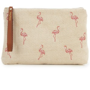 Tommy Bahama Wristlet in Cream and Pink
