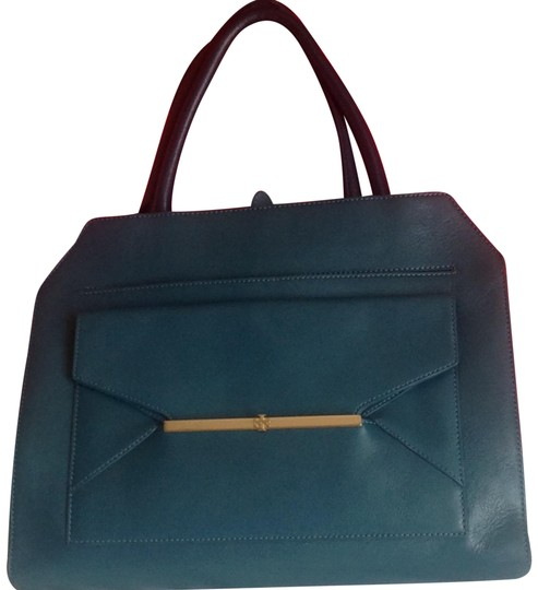 Preload https://img-static.tradesy.com/item/24447241/tory-burch-suede-euc-gorgeous-1-day-sale-122-teal-leather-tote-0-1-540-540.jpg