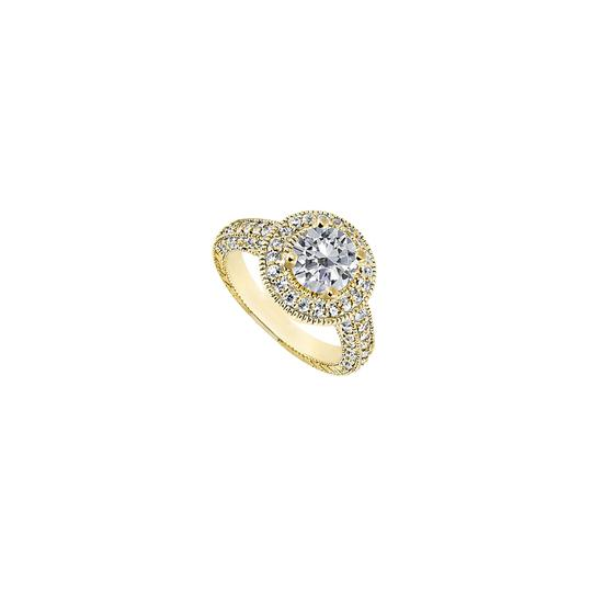 Preload https://img-static.tradesy.com/item/24447246/white-cubic-zirconia-halo-engagement-in-18k-yellow-gold-vermeil-130-ct-ring-0-0-540-540.jpg