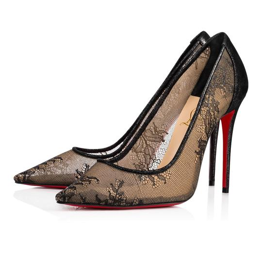 Preload https://img-static.tradesy.com/item/24447289/christian-louboutin-black-lace-554-100-lace-mesh-suede-stiletto-pigalle-heel-pumps-size-eu-375-appro-0-0-540-540.jpg