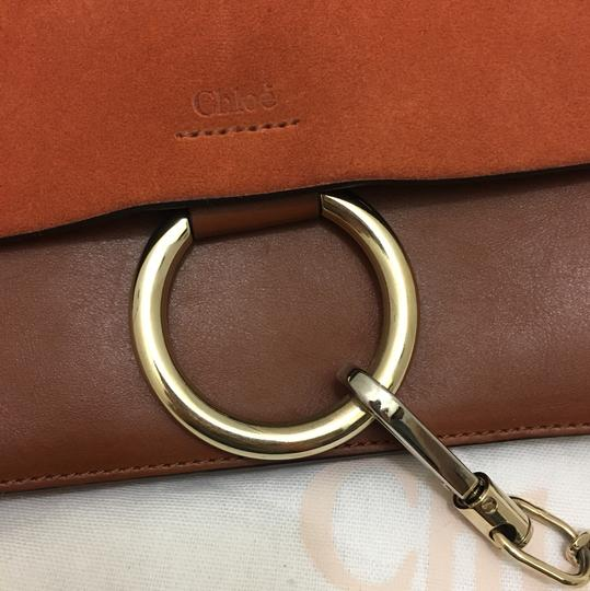 Chloé Suede Chic Leather Calfskin Cross Body Bag