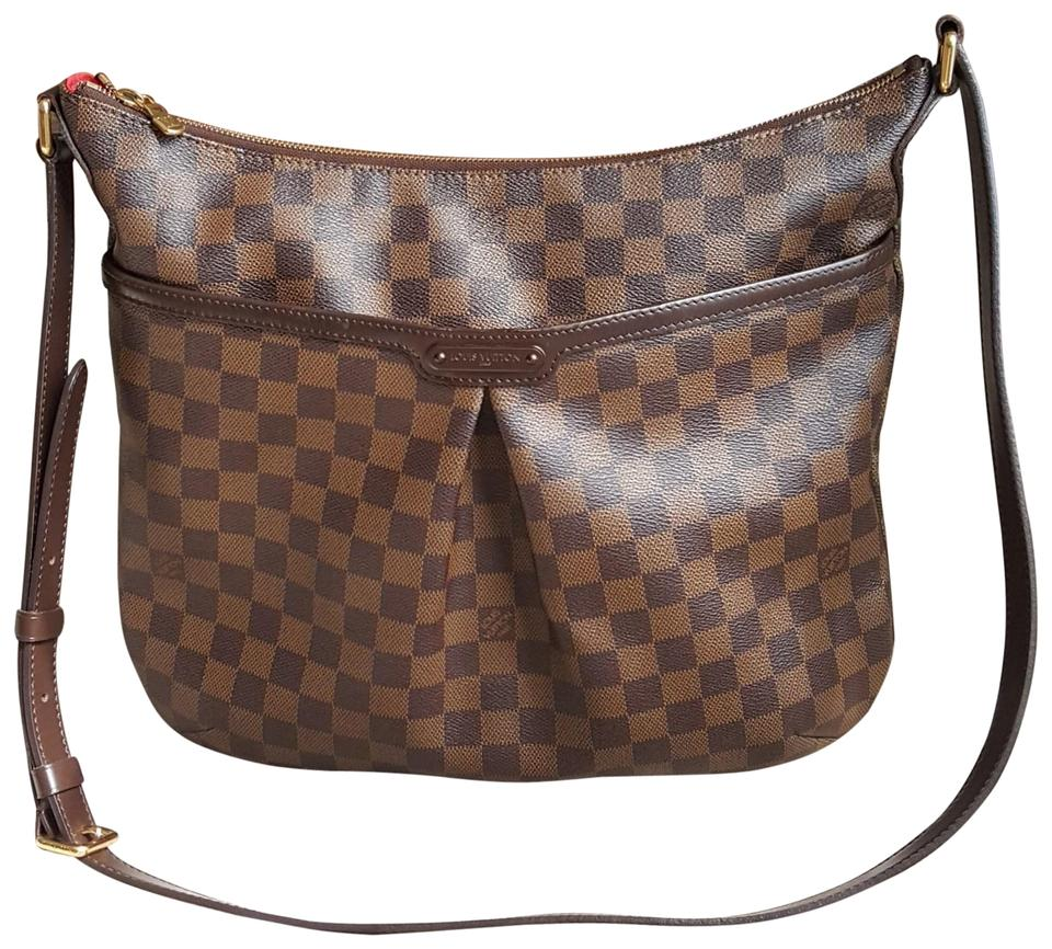 Louis Vuitton Damier Ebene Bloomsubury Gm Brown Coated Canvas Cross Body Bag bfb3053b27bf1