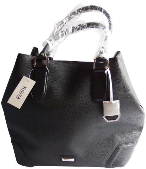 Preload https://img-static.tradesy.com/item/24447358/kenneth-cole-reaction-sammy-blackgray-inteior-faux-leather-tote-0-1-540-540.jpg