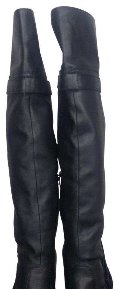 24760d6e546 MOUSSY Over The Knee Boots Booties. Size  US 5.5 Narrow (AA ...