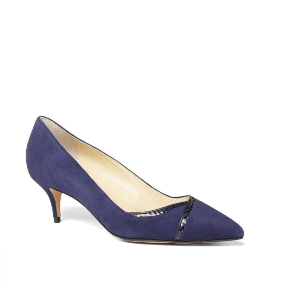 c458a7a57fa Sarah Flint Navy Blue Vivian Pumps Size EU 39 (Approx. US 9) Regular ...