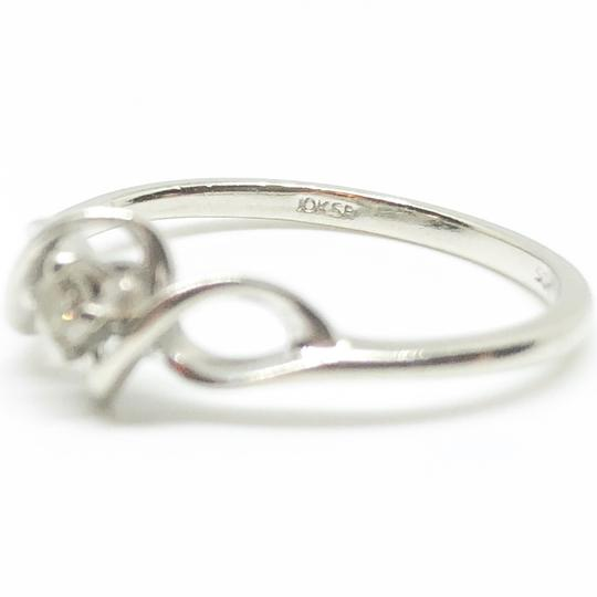 Kay Jewelers 10k White Gold Authentic Diamond Ring