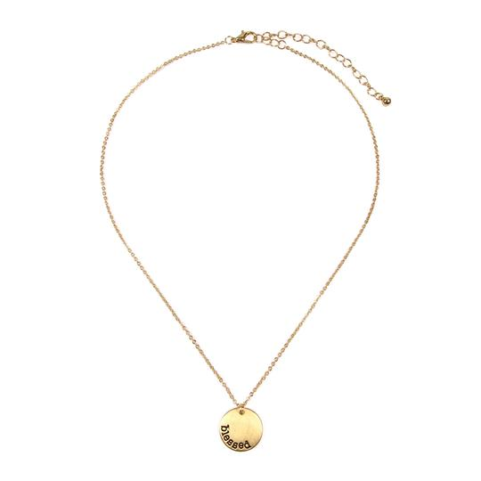 Riah Fashion Dainty Message Necklaces