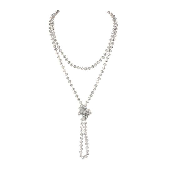 Preload https://img-static.tradesy.com/item/24447457/rhodium-long-knotted-rondelle-beads-necklace-0-0-540-540.jpg