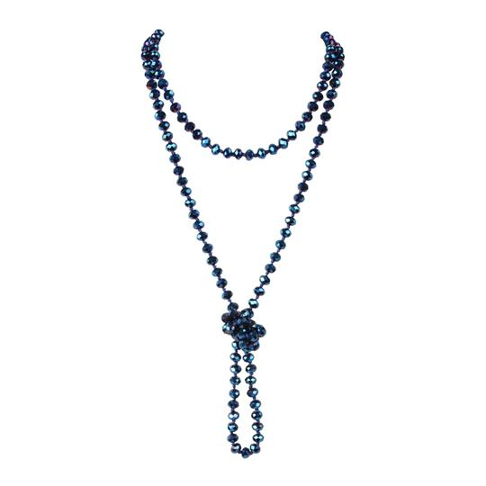 Preload https://img-static.tradesy.com/item/24447472/montana-blue-long-knotted-rondelle-beads-necklace-0-0-540-540.jpg