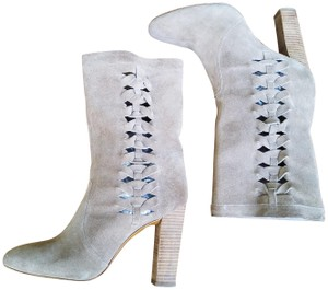 Delman #riley #genuineleather #suede #highheelboots Tan Boots