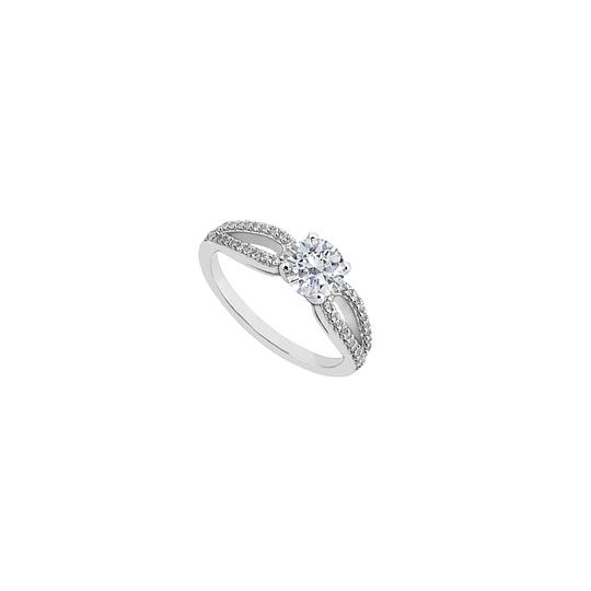 Preload https://img-static.tradesy.com/item/24447522/white-sterling-silver-cubic-zirconia-engagement-075-carat-total-cubic-ring-0-0-540-540.jpg