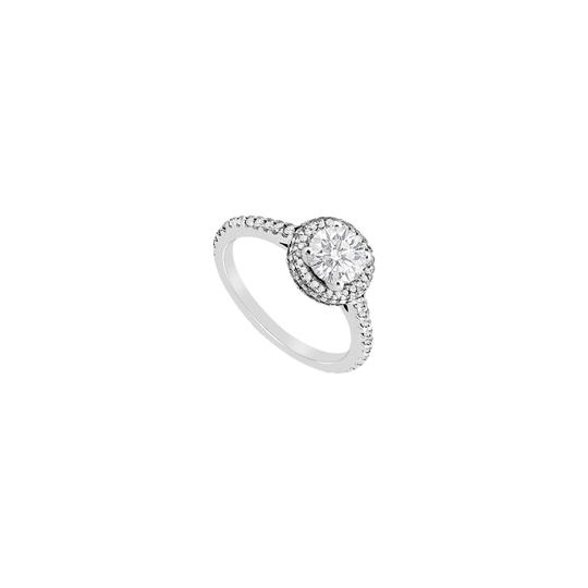 Preload https://img-static.tradesy.com/item/24447563/white-sterling-silver-cubic-zirconia-halo-engagement-with-110-carat-cz-ring-0-0-540-540.jpg