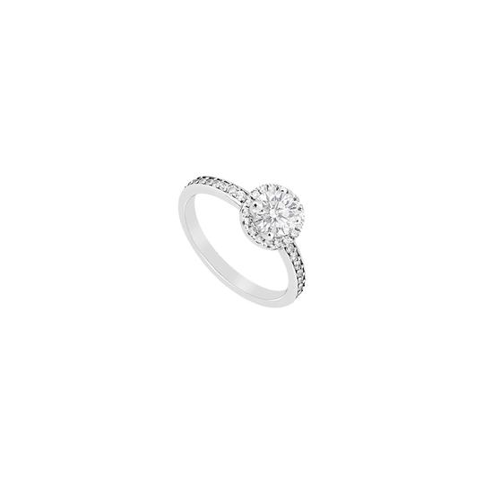 Preload https://img-static.tradesy.com/item/24447593/white-cubic-zirconia-halo-engagement-in-sterling-silver-1-carat-czs-ring-0-0-540-540.jpg