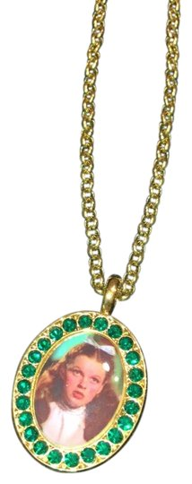 Preload https://img-static.tradesy.com/item/24447635/tarina-tarantino-gold-and-green-necklace-0-1-540-540.jpg