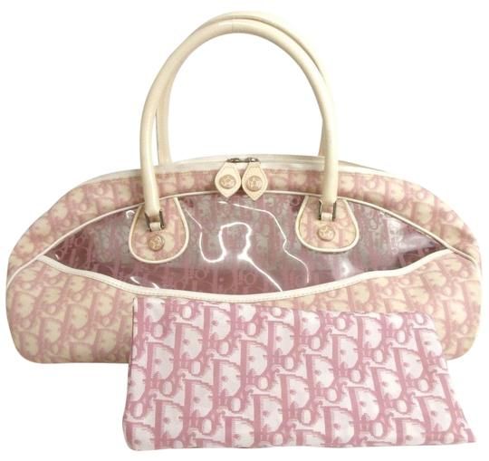 Preload https://img-static.tradesy.com/item/24447682/dior-christian-trotter-pattern-pink-ivory-canvas-shoulder-bag-0-1-540-540.jpg