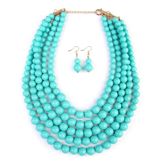 Preload https://img-static.tradesy.com/item/24447714/turquoise-bubble-multilayer-necklace-0-0-540-540.jpg