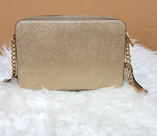 Michael Kors 32h5mtvc7m Mk Metallic Cross Body Bag