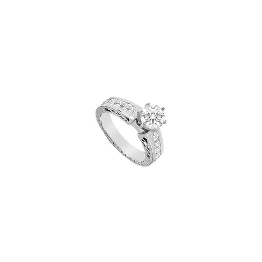 Preload https://img-static.tradesy.com/item/24447739/white-cubic-zirconia-brilliant-cut-round-and-princess-cut-engagement-ring-0-0-540-540.jpg