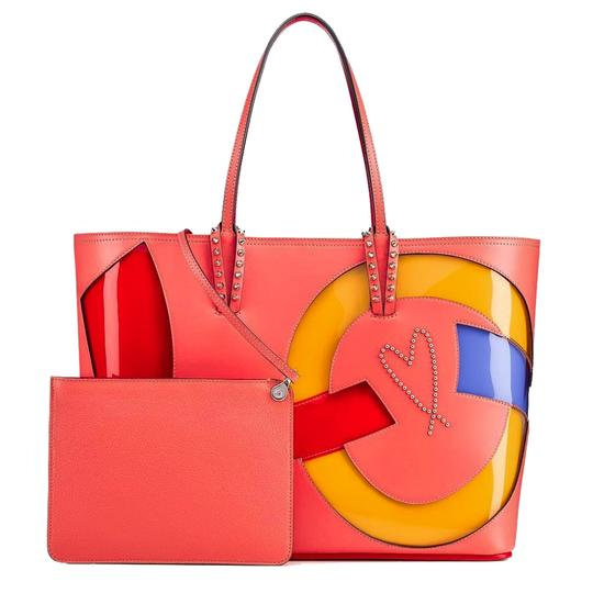 Preload https://img-static.tradesy.com/item/24447761/christian-louboutin-cabata-paris-embellished-calfskin-charlottemulti-leather-tote-0-5-540-540.jpg