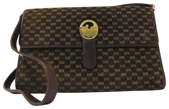 Preload https://img-static.tradesy.com/item/24447762/gucci-vintage-two-way-style-pursesdesigner-purses-brown-suede-with-lighter-brown-small-g-logo-print-0-1-540-540.jpg