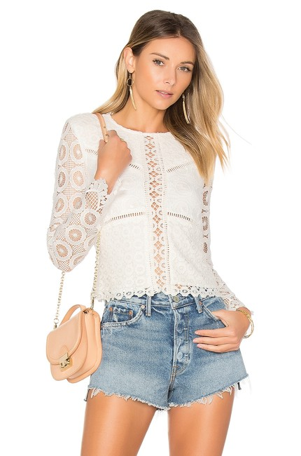 Preload https://img-static.tradesy.com/item/24447773/lovers-friends-white-lotus-lace-blouse-size-4-s-0-0-650-650.jpg