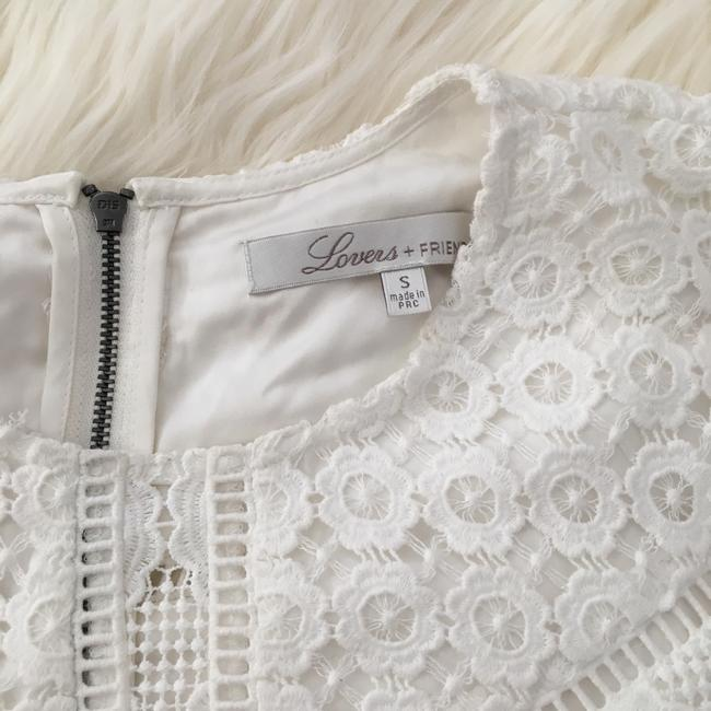 Lovers + Friends Lace Top White