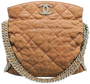 Chanel Chain Around Leather Shoulder Bag