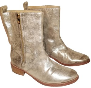Tory Burch Gold Boots