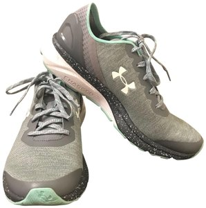 Under Armour Grey/Light Green Athletic