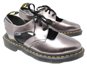 Dr. Martens Metallic Doctor Pewter Gray Athletic