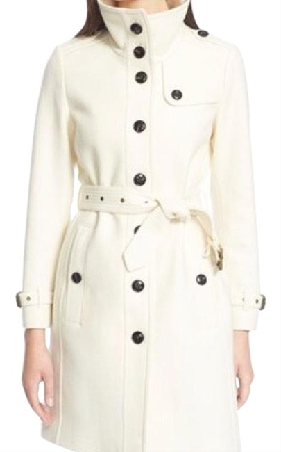 Item - White Rushfield Coat Size 14 (L)