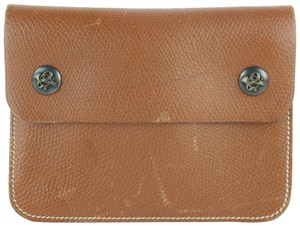Hermès Waist Bum Belt Fanny Pack Brown Clutch