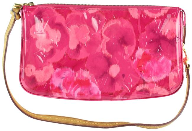 Item - Pochette Vernis Ikat Accessories Nm Rose Velours 23lz1130 Pink Patent Leather Clutch