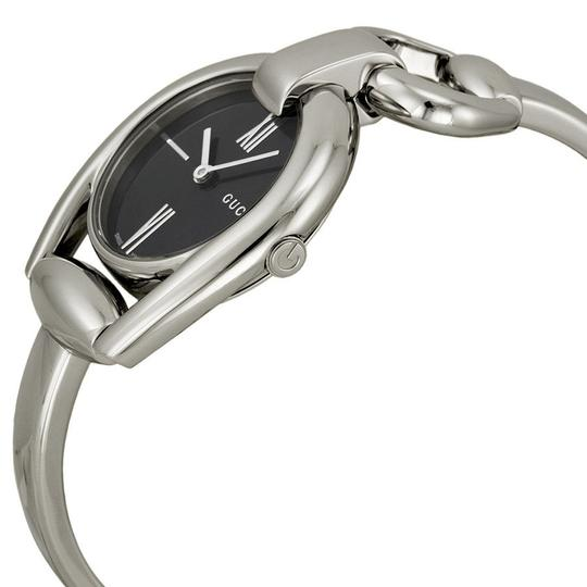Gucci Horsebit Stainless Black Mother of Pearl Dial YA139503 Image 6