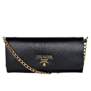 Prada Woc Monogram Leather Cross Body Bag