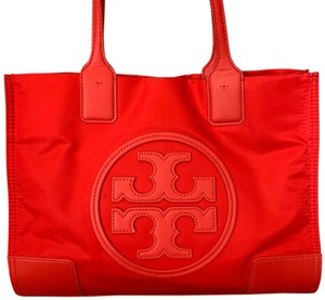 Tory Burch Ella Tote in Red