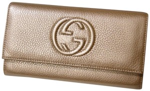 Gucci NEW AUTHENTIC GUCCI SOHO LEATHER WALLET