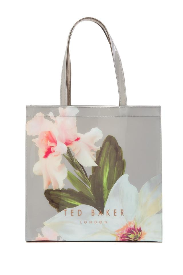 8cae5dd2341 Ted Baker London Hermcon Chatsworth Bloom Large Icon Mid Grey Pvc ...