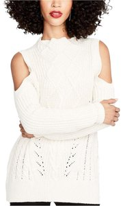 Rachel Roy Cable Knit Cold Sleeves Sweater