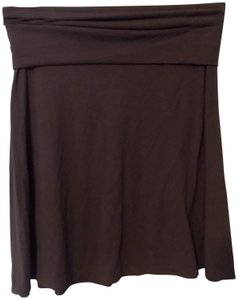 Old Navy Comfy Stretchy Relaxed Soft Skirt Brown